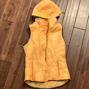 Lululemon Glacier Vest- Burning Yellow